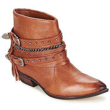 Skor Dam Boots Dumond ZIELLE Brun