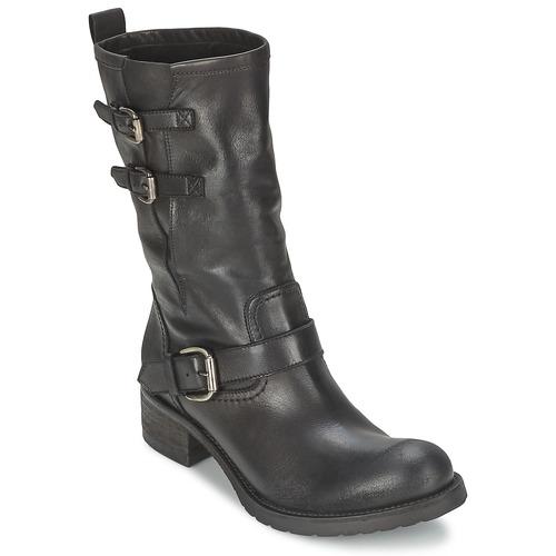 Skor Dam Boots JFK GUANTP Svart