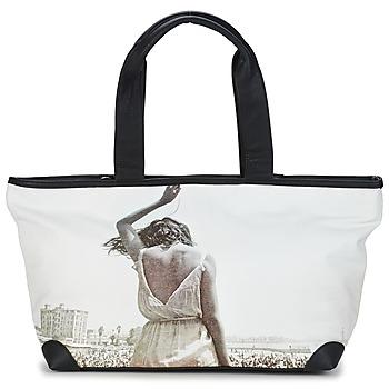Väskor Dam Shoppingväskor Kothai MICRO GIRL Svart / Grå