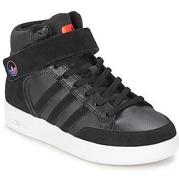 Skor Barn Höga sneakers adidas Originals VARIAL MID J Svart / Röd / Blå