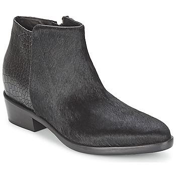 Skor Dam Boots Alberto Gozzi PONY NERO Svart