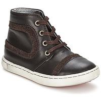 Skor Pojk Boots Tartine Et Chocolat JR URBAIN Choklad