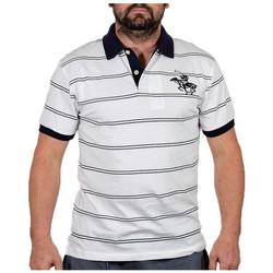 textil Herr T-shirts Santa Barbara  Vit