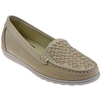Skor Dam Loafers Keys  Beige