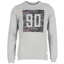 textil Herr Sweatshirts Jack & Jones BOXCAMO CORE Grå