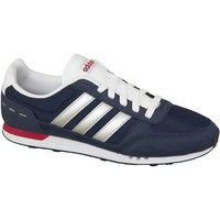 Skor Herr Sneakers adidas Originals Neo City Racer F99330 Blue