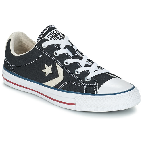 Skor Herr Sneakers Converse STAR PLAYER OX Svart