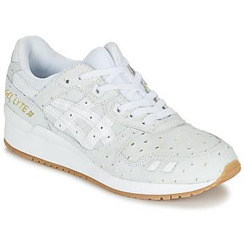 Skor Dam Sneakers Asics GEL-LYTE III PACK SAINT VALENTIN W Vit / Guldfärgad