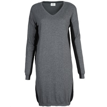 textil Dam Korta klänningar Chipie MONNA Grå / Svart