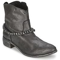 Skor Dam Boots Meline VUTIO Svart / Metallfärg