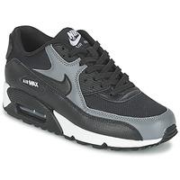 Skor Dam Sneakers Nike AIR MAX 90 W Svart / Grå