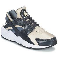 Skor Dam Sneakers Nike AIR HUARACHE RUN W Grå / Beige