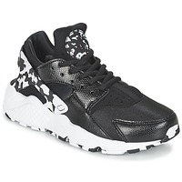Skor Dam Sneakers Nike AIR HUARACHE RUN SE W Svart / Vit