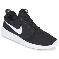 Skor Herr Sneakers Nike ROSHE TWO Svart / Vit
