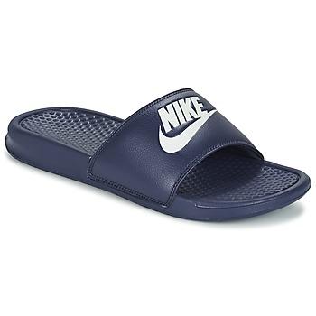 Skor Herr Flipflops Nike BENASSI JDI Blå / Vit