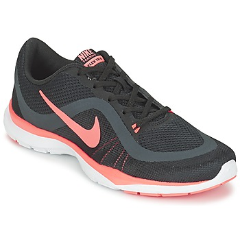 Skor Dam Fitnesskor Nike FLEX TRAINER 6 W Svart / Rosa