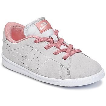 Skor Flick Sneakers Nike TENNIS CLASSIC PREMIUM TODDLER Grå / Rosa