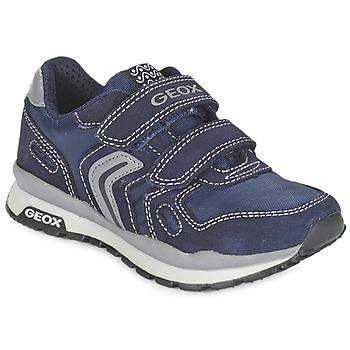 Skor Flick Sneakers Geox J PAVEL Blå