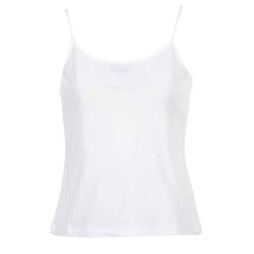 textil Dam Linnen / Ärmlösa T-shirts BOTD FAGALOTTE Vit