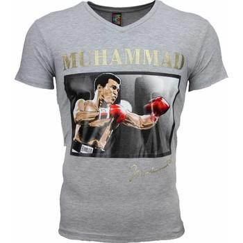 textil Herr T-shirts Local Fanatic Muhammad Ali Glossy Print Grå