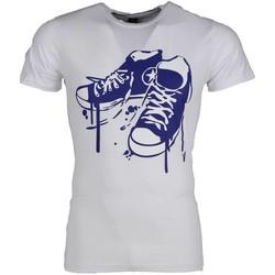 textil Herr T-shirts Local Fanatic Sneakers Wit Vit