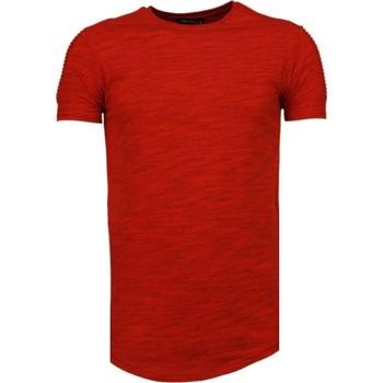 textil Herr T-shirts Tony Backer Kille TBR Röd