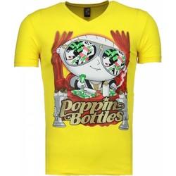 textil Herr T-shirts Local Fanatic Poppin Stewie Gul