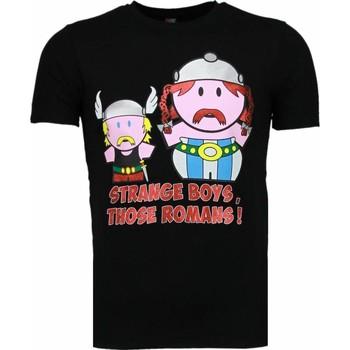 textil Herr T-shirts Local Fanatic Sommarkläder Svart