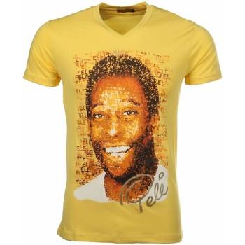 textil Herr T-shirts Local Fanatic Pele Geel Gul