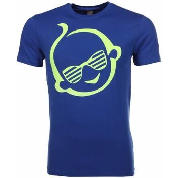 textil Herr T-shirts Local Fanatic Zwitsal Blauw Blå