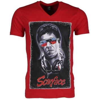 textil Herr T-shirts Local Fanatic Scarface Rood Röd