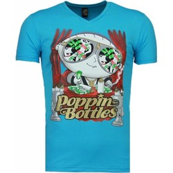 textil Herr T-shirts Local Fanatic Poppin Stewie Rosa