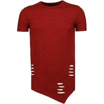 textil Herr T-shirts Tony Backer A Tryck Kläder TBR Röd