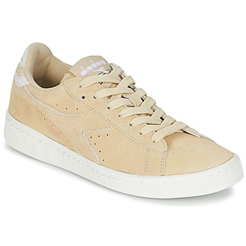 Skor Dam Sneakers Diadora GAME LOW SUEDE Beige