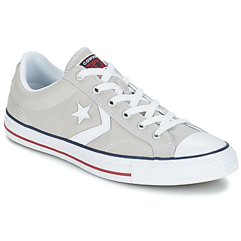 Skor Sneakers Converse STAR PLAYER CORE CANVAS OX Grå / Ljus / Vit