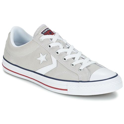 Skor Sneakers Converse STAR PLAYER CORE CANVAS OX Grå / Ljus / Vit