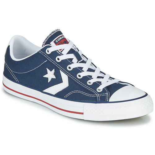 Skor Sneakers Converse STAR PLAYER CORE CANVAS OX Marin / Vit