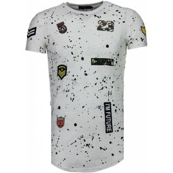textil Herr T-shirts Justing Muhammad Ali Stars Zwart Svart