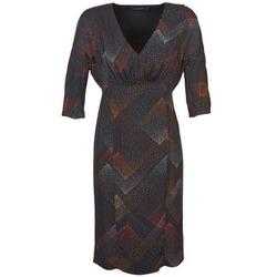 textil Dam Korta klänningar Antik Batik ORION Svart