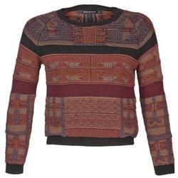 textil Dam Tröjor Antik Batik AMIE Rostfärgad