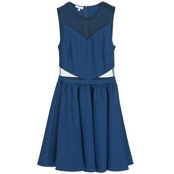 textil Dam Korta klänningar Brigitte Bardot BB45080 Blå