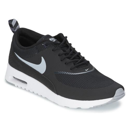Skor Dam Sneakers Nike AIR MAX THEA Svart / Grå / Mörkgrå / Vit