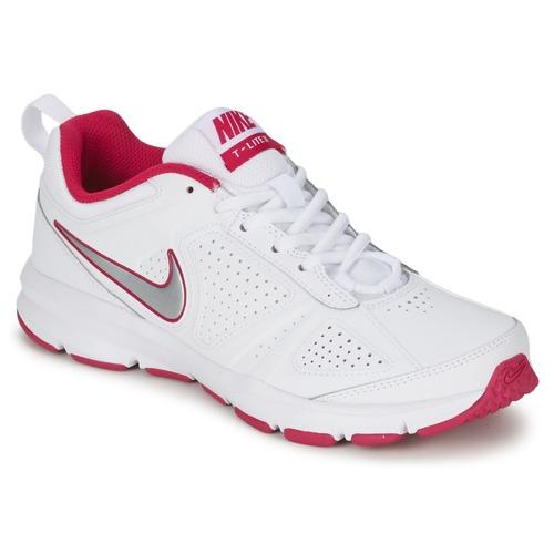 Skor Dam Träningsskor Nike T-LITE XI Vit / Rosa