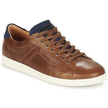 Skor Herr Sneakers Redskins ORMIL Cognac / Marin