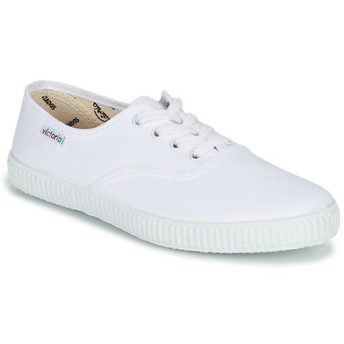 Skor Sneakers Victoria INGLESA LONA Vit