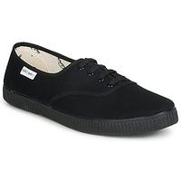 Skor Sneakers Victoria INGLESA LONA PISO Svart