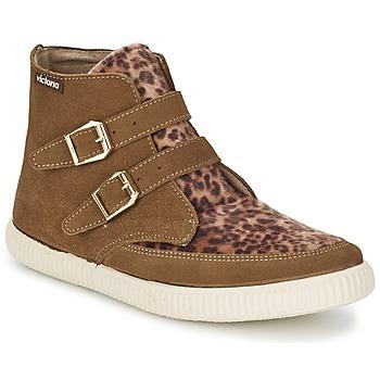Skor Dam Höga sneakers Victoria 16706 Brun