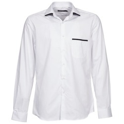 textil Herr Långärmade skjortor Pierre Cardin ANTOINE Vit