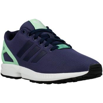 Skor Dam Sneakers adidas Originals ZX Flux W Light Flash Green Celadon,Grenade
