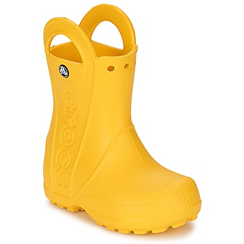 Skor Barn Gummistövlar Crocs HANDLE IT RAIN BOOT KIDS Gul